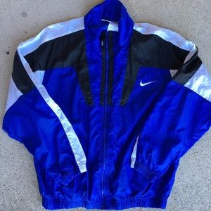 Vintage 90s Nike Windbreaker Jacket medium